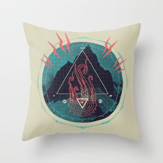 Mountain of Madness Throw Pillow