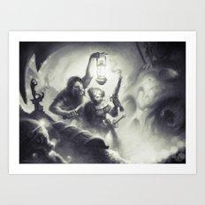 The Intruders Art Print
