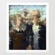 Panelscape Iconic - American Gothic Art Print