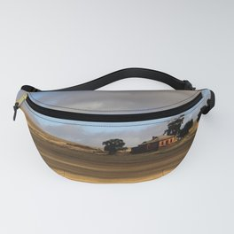 Rural Landscape and Farmhouse in Australia Fanny Pack