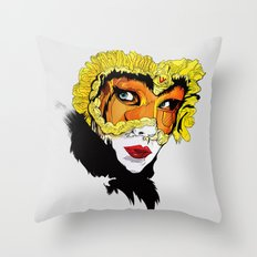 The Feast of Earl Throw Pillow