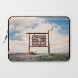 Welcome to Colorful Colorado Laptop Sleeve