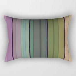 Striped pattern 1. Vertical stripes . Rectangular Pillow