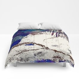 Contradictions Abstract Comforters