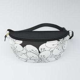 Cherry Blossom Boarder Fanny Pack