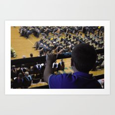 Graduation Motivation Art Print