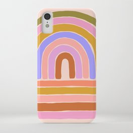 rainbow : of the heart iPhone Case
