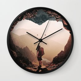 Heart Sigh Wall Clock