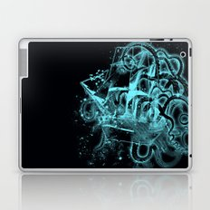 flying dutchman ghost ship Laptop & iPad Skin