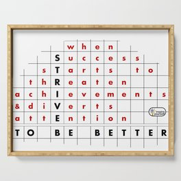 Strive to Be Better Serving Tray