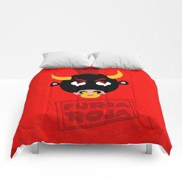 Furia Roja Comforters