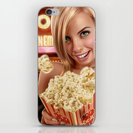 CINEMA POP iPhone Skin