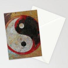 Yin Yang Dragon Stationery Cards