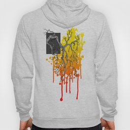 Liquid Autumn Leaves (Light) Hoody