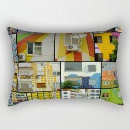 Tirana Collage Rectangular Pillow