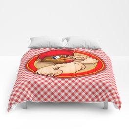 fighten rooster Comforters