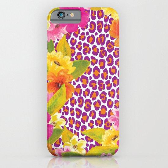 Floral Leopard  iPhone & iPod Case