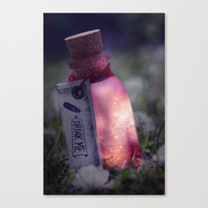 Drink me poison Canvas Print
