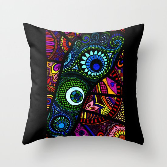 Foot Bound Throw Pillow