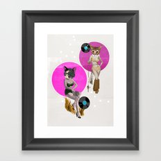 Record Hunting and Gathering Framed Art Print