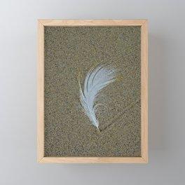 Sand Surfer Framed Mini Art Print