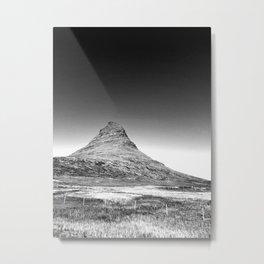 Kirkjufell in the Summer Metal Print