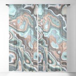Fractal Marble 4 Sheer Curtain