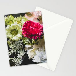 Flower Bouquet part 1 Stationery Cards