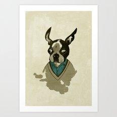 perfect gentleman Art Print