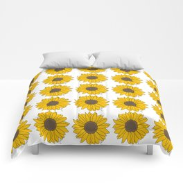 Sunflower Power Comforters