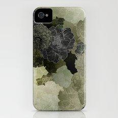 FLORAL OLIVE iPhone (4, 4s) Slim Case