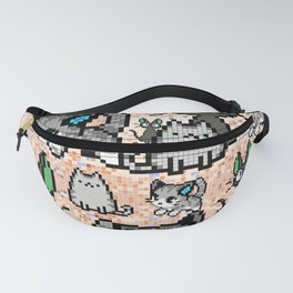 Cat and kitten 2 Fanny Pack