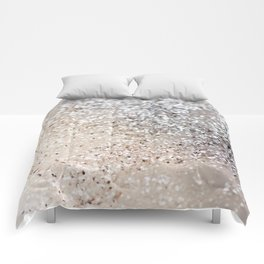 Sparkling GOLD Lady Glitter #6 #decor #art #society6 Comforters