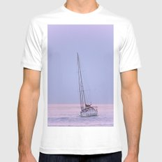 Yacht Mens Fitted Tee MEDIUM White