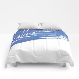 PALM BLUES Comforters