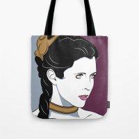 80s Princess Leia Slave Girl Tote Bag