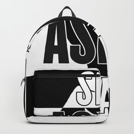 Stop Asian Hate Backpack