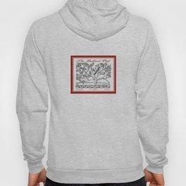 The Bedford Oak Zentangle Illustration Hoody
