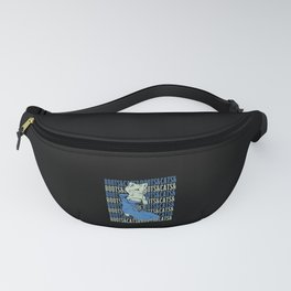 Boots & Cats Fanny Pack