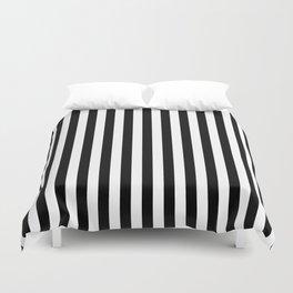 Stripe Black & White Vertical Duvet Cover