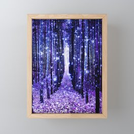 Magical Forest Framed Mini Art Print
