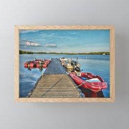 Landing Stage Framed Mini Art Print