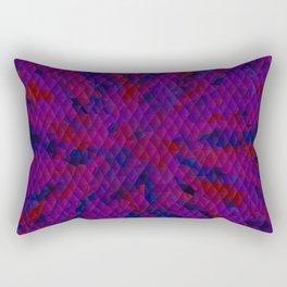 triangles complexity Rectangular Pillow