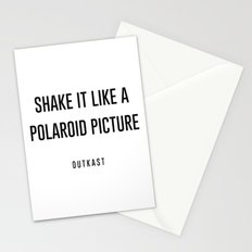Shake it like a picture Stationery Cards