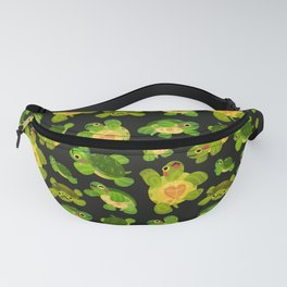 Red-eared slider (dark) Fanny Pack