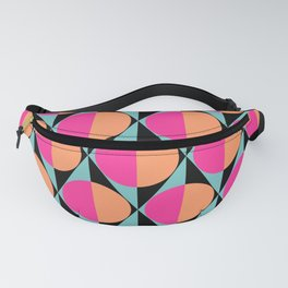 60s abstract pattern Fanny Pack