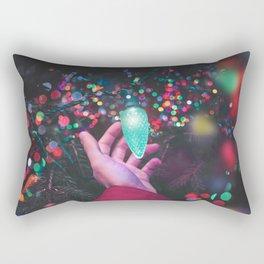 The Christmas Light (Color) Rectangular Pillow
