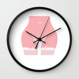 My Body My Choice Shirt Vagina Female Body feminist feminism Wall Clock