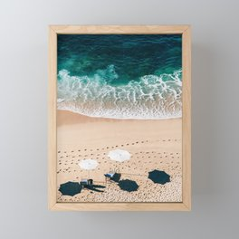 Beach Vacation Framed Mini Art Print