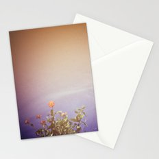 Water Flowers Stationery Cards